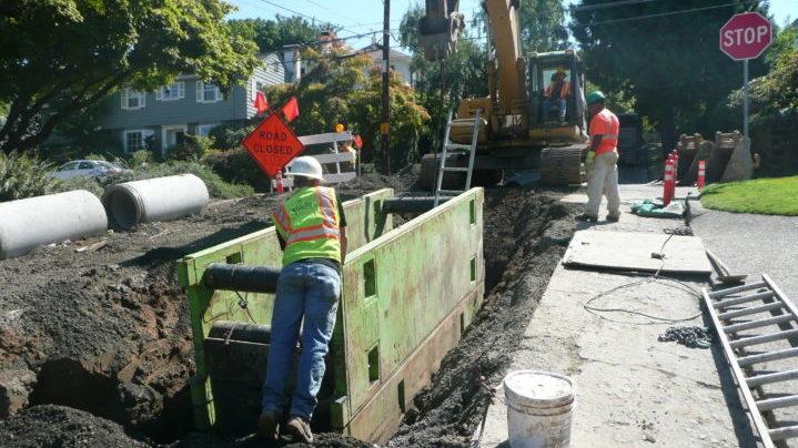 Reduced site footprint