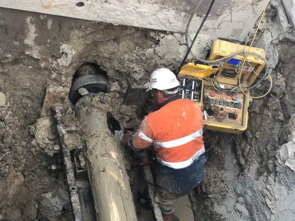 Precision pipeline installation specialists - Edge Microtunnelling